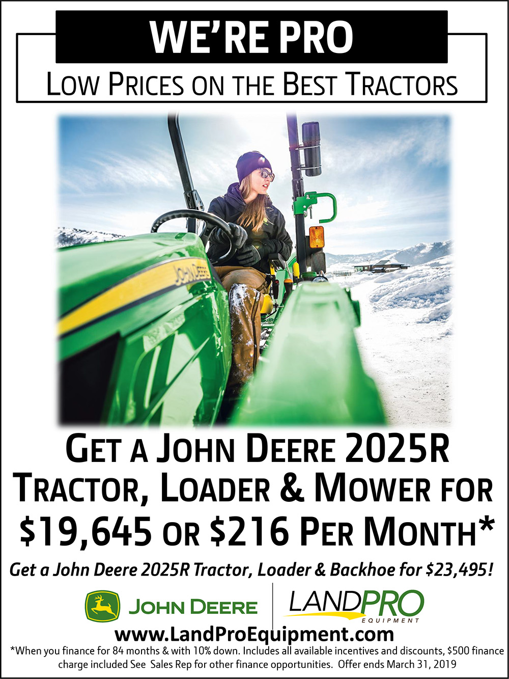 Vaughn Mower Fstdt: Compact Tractors » LandPro Equipment; NY, OH & PA
