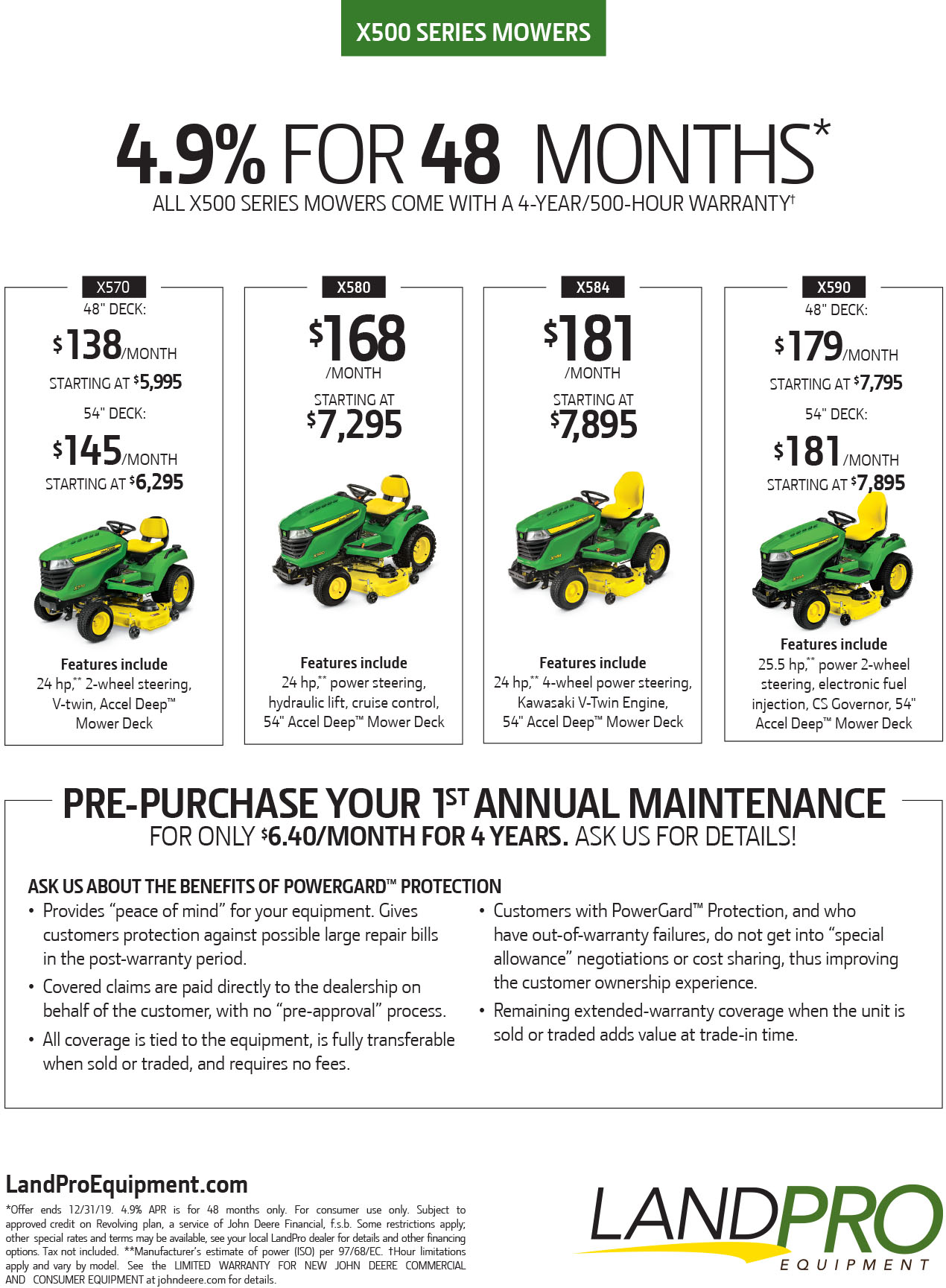 Vaughn Mower Fstdt: Mowers » LandPro Equipment; NY, OH & PA