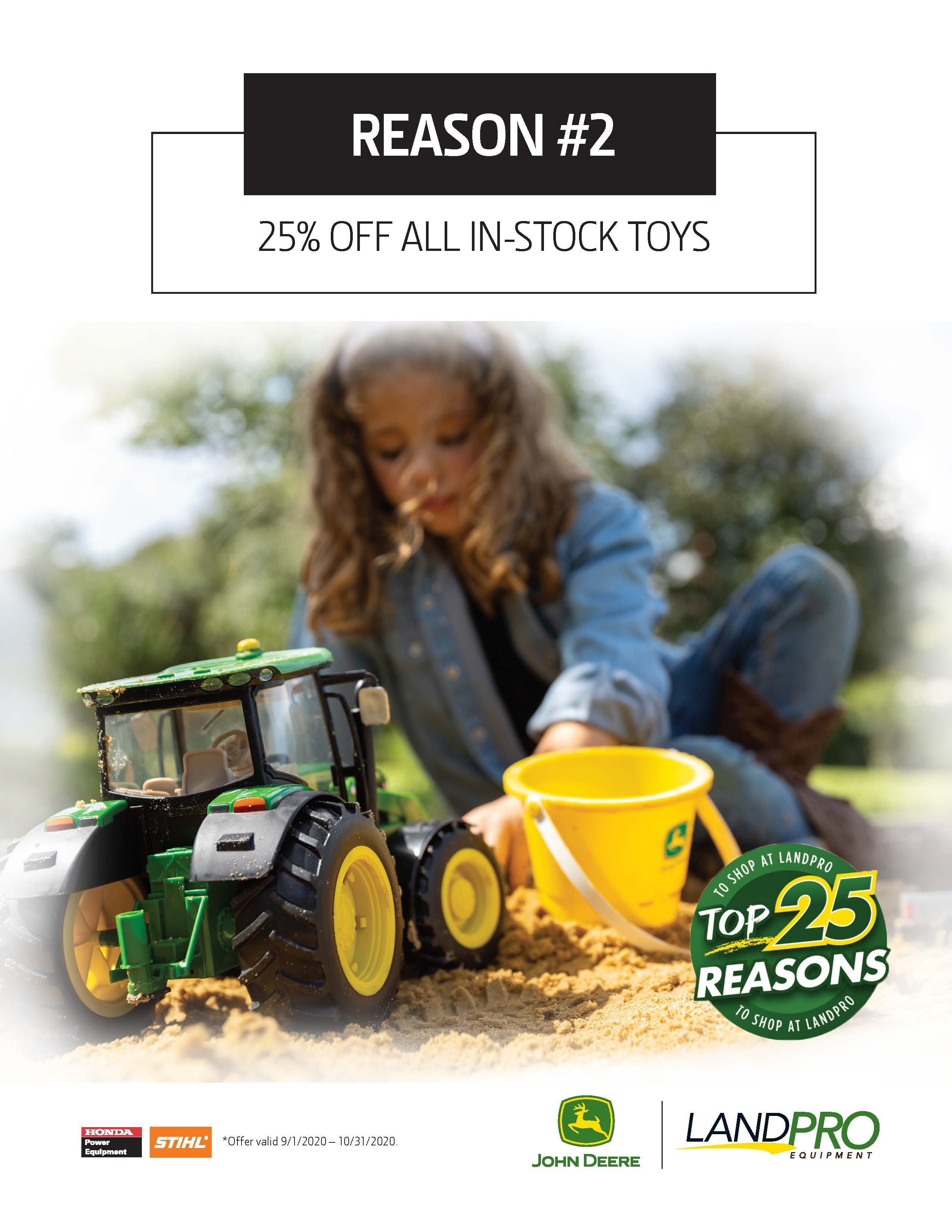 25% OFF ALL IN-STOCK TOYS