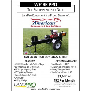 Log Splitter Website