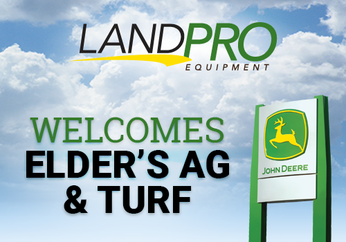 Land Pro welcomes Elder's Ag and Turf